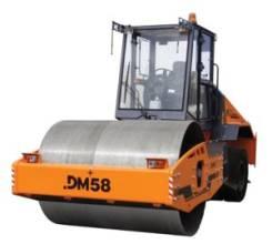 Завод ДМ DM58. Дорожный комбинированный вибрационный самоходный каток ДМ58, 11 150куб. см.