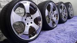 Владельцам Jaguar и Chevrolet культовый хром от WORK LS305 на лете. 10.0/8.5x20 5x120.00, 5x120.65 ET48/45
