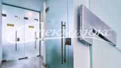 Стеклянные офисные перегородки / Маятниковые двери, раздвижные двери