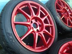 Work M. C. O Type CS R18 5x114.3 + колпачки ЦО. 8.5x18, 5x114.30, ET38, ЦО 73,0 мм.