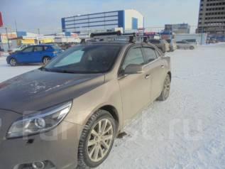 Автомобильные крепления для лыж, сноубордов. Chevrolet Malibu, V300 Двигатель LE9