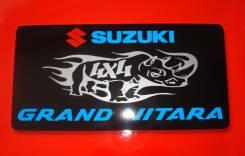 Табличка. Suzuki Grand Vitara