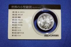 Серебряная монета в 5 немецких марок