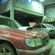 Патрубок воздухозаборника. Subaru Forester, SG