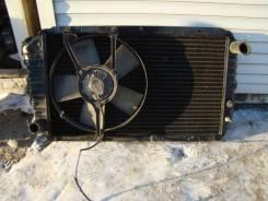 Радиатор охлаждения двигателя. Subaru Leone