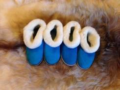 Теплый Подарок Тапочки из натуральной овчины
