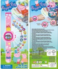 Детские часы с мультяшной свинкой Пеппой.