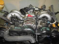 Контрактный б/у двигатель + АКПП EJ254 на Subaru