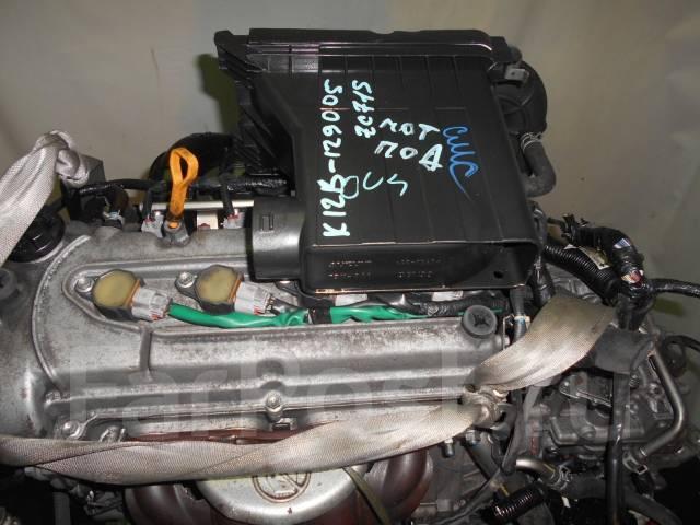 Контрактный б/у двигатель + АКПП Suzuki K12B