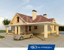 M-fresh Relax (Покупайте сейчас проект со скидкой 20%! ). 200-300 кв. м., 1 этаж, 5 комнат, кирпич