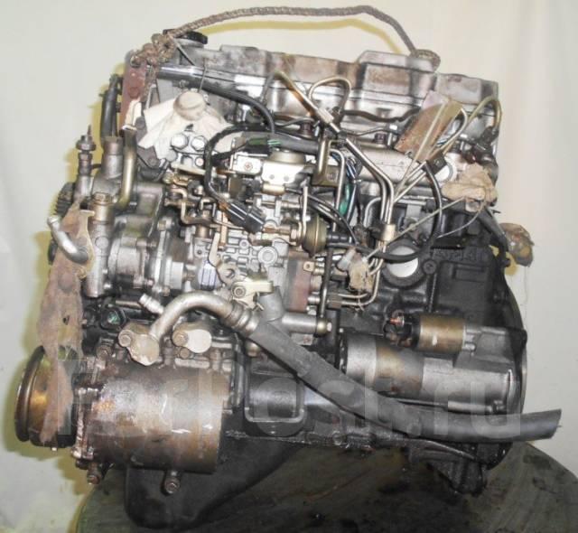 Контрактный б/у двигатель 4M40-T на Mitsubishi