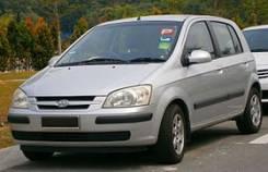 Ступица. Hyundai Getz