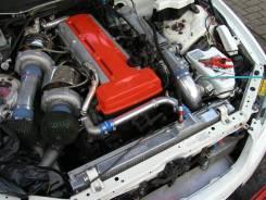 Патрубок радиатора. Toyota Supra, JZA80 Toyota Aristo, JZS147 Двигатель 2JZGTE