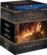 Хоббит: Трилогия (режиссерская версия) (3D Blu-Ray + 9 Blu-Ray)