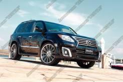Обвес кузова аэродинамический. Lexus LX570, URJ201W, SUV, URJ201 Двигатель 3URFE