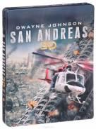Разлом Сан-Андреас (железный бокс) (Real 3D Blu-Ray + 2D Blu-Ray)