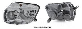 Фара. Renault Duster, HSA, HSM Двигатели: K4M, K9K, F4R