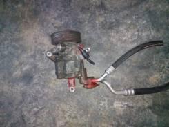 Компрессор кондиционера. Nissan Tiida, NC11 Двигатель HR15DE