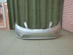 Бампер передний новый Kia Rio III цвет Серебристый металлик