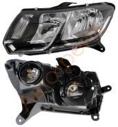 Фара. Renault Sandero, BS1Y, BS12, BS11 Renault Logan Двигатели: K7J, K4M, K7M