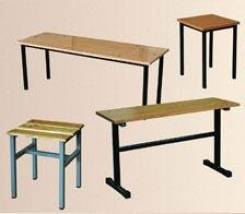Мебель на металлокаркасе. Скамейки, банкетки, столы, стеллажи. Под заказ