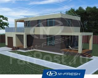 M-fresh Impulse Compact-зеркальный (Проект компактного дома! ). 100-200 кв. м., 2 этажа, 5 комнат, бетон