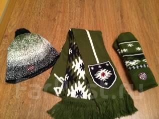 Шапка, шарф и варежки. 57
