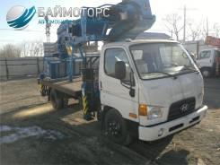 Dasan DS-280CL. Автовышка на шасси Hyundai HD78 Dasan DS280L б/у, 3 908куб. см., 28,00м.