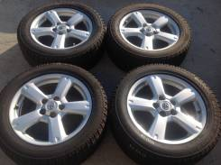 225/55 R 17 Bridgestone Blizzak Revo2 литые диски 5х114.3 R17 (к3-17013). 7.0x17 5x114.30 ET45