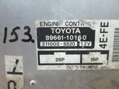 Блок управления двс. Toyota Starlet, EP91, EP95 Двигатели: 4EF, 4EFTE, 4EFE