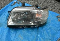 Фара. Nissan Cube, AZ10, ANZ10, Z10 Двигатели: CGA3DE, CG13DE
