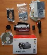 Canon LEGRIA HF M406. с объективом