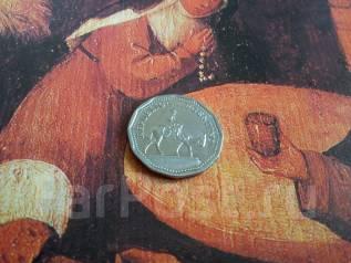 Аргентина. 10 песо 1963 года. Интересная форма монетки!