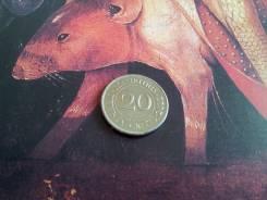 Загадочный Маврикий! 20 центов 2012 года.