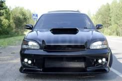 Накладка на фару. Subaru Legacy, BHC, BES, BH5, BHE, BE5, BEE, BH9, BE9