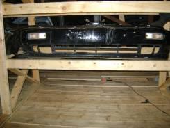 Митцубиси Галант Е5 1996 год бампер передний цвет черный