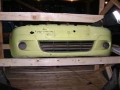 Daewoo Matiz бампер передний цвет желтый