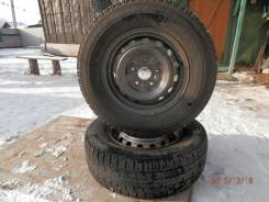 Bridgestone Blizzak MZ-02. Всесезонные, 2010 год, износ: 10%, 2 шт