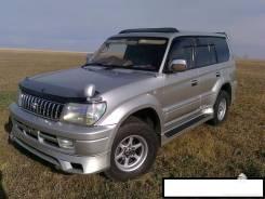 Обвес кузова аэродинамический. Toyota Land Cruiser Prado, KDJ90, KDJ90W, KDJ95, KDJ95W, KZJ90, KZJ90W, KZJ95, RZJ90, RZJ90W, RZJ95W, VZJ90, VZJ90W, VZ...