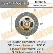 Диск сцепления. Toyota: Cresta, Verossa, Mark II Wagon Blit, Soarer, Supra, Chaser, Mark II Двигатели: 1JZGTE, 7MGTEU, 2JZGTE, 7MGTE