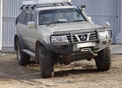 Nissan Safari. автомат, 4wd, 4.8 (245 л.с.), бензин, 119 000 тыс. км