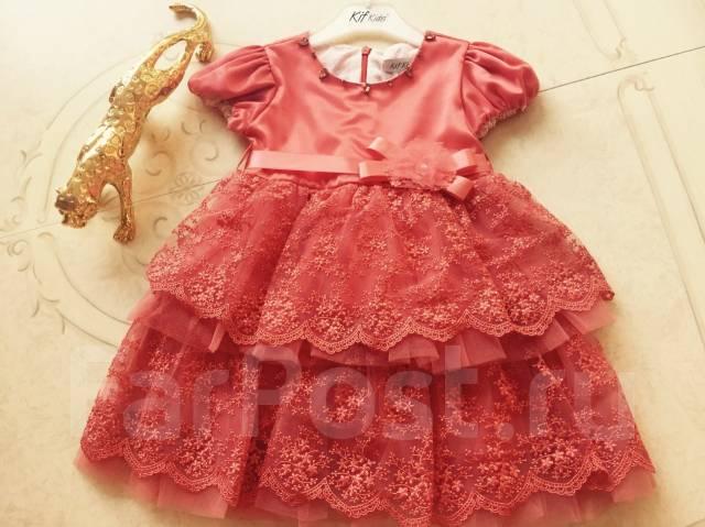 bb6dda5b24f Красивое платье для малышки. Турция - Детская одежда во Владивостоке