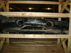Понтиак Бонневиль бампер передний цвет черный