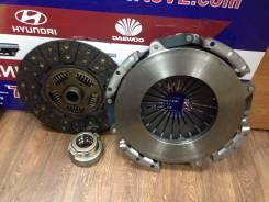 Диск сцепления. Hyundai: Mighty, HD, Porter II, Porter, County Kia Bongo Daewoo Novus Двигатели: D4GA, D4DA, D4CB, D4DD, D4AF, D4AL, DB9A23, D6AV