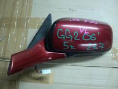 Зеркало заднего вида боковое. Subaru Impreza, GGC, GGA, GG, GG9, GD3, GD2, GG3, GG2, GDD, GDB, GGD, GDA Двигатели: EJ207, EJ205, EJ152, EJ154
