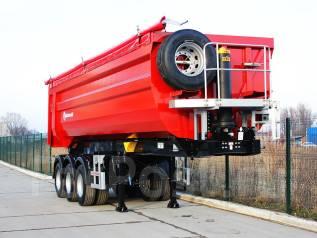 Grunwald. Самосвальный полуприцеп 38 m3, 41 500 кг.