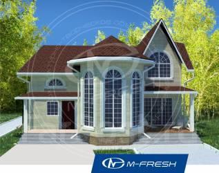 M-fresh Chill out progress-зеркальный (Живите ярко по этому проекту! ). 200-300 кв. м., 2 этажа, 4 комнаты, бетон