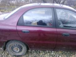 Дверь боковая. Chevrolet Lanos, T100