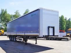 Grunwald. Шторно-бортовой полуприцеп (коники), 31 000 кг.
