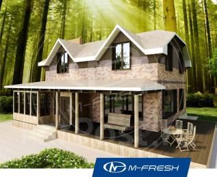 M-fresh My Villa-зеркальный. 200-300 кв. м., 2 этажа, 5 комнат, кирпич